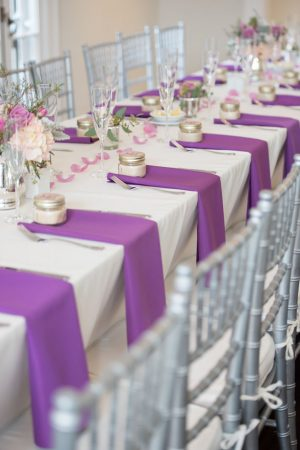 Pretty wedding table-scape - Corner House Photography