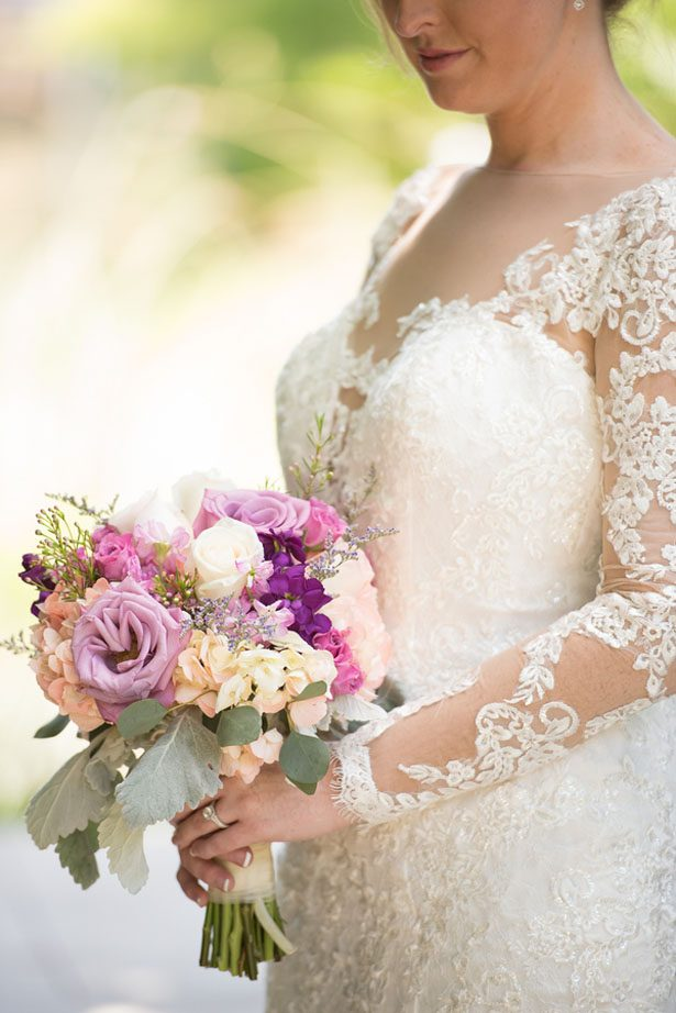 Lilac and Silver Vintage Wedding