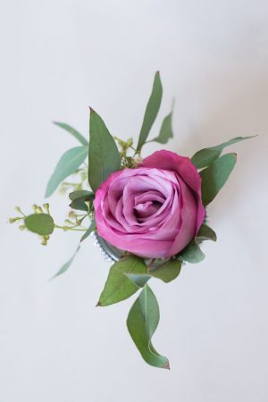 Purple wedding flowers - Corner House Photography