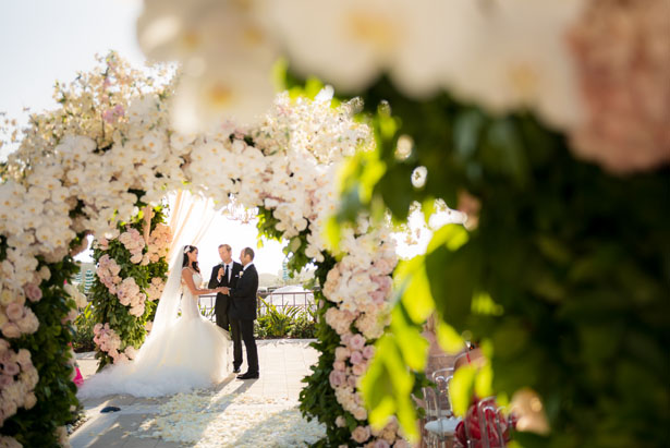 Romantic wedding ceremony picture - Lin And Jirsa Photography