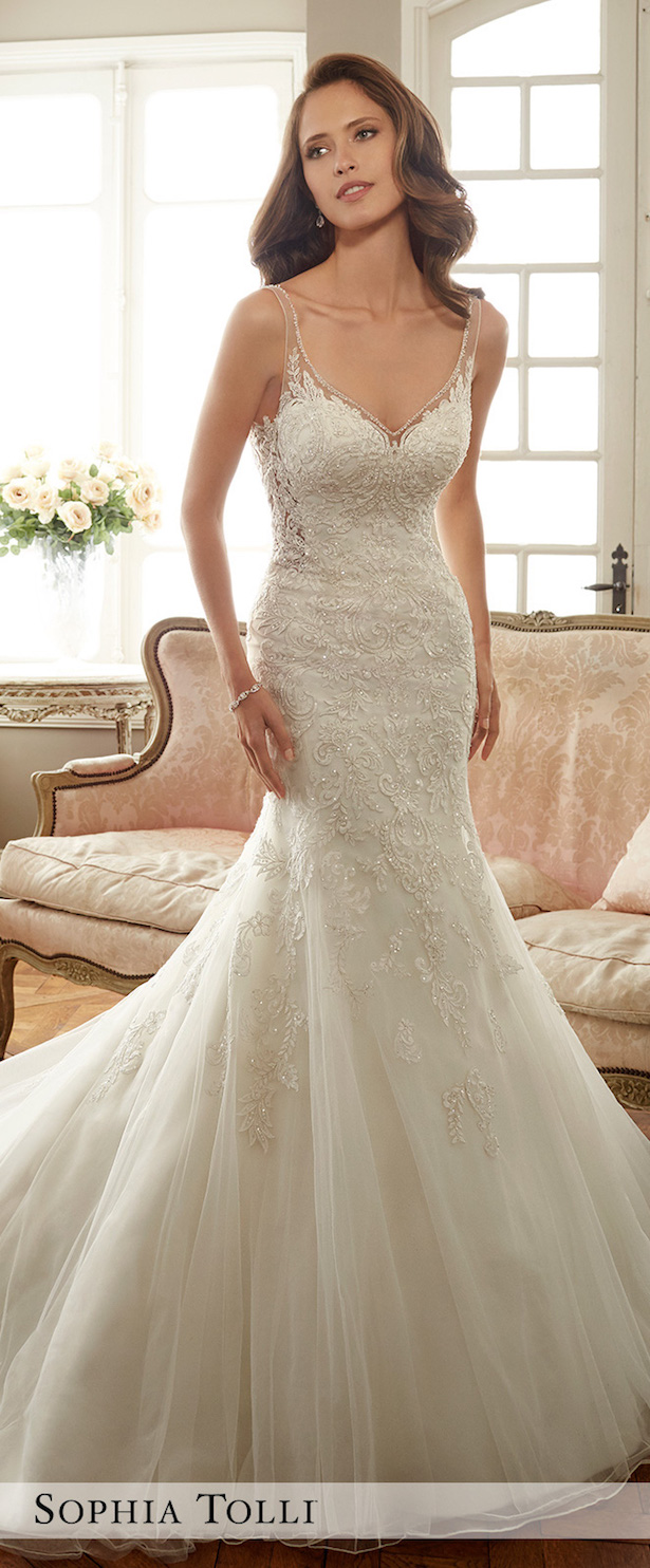 Wedding Dress by Sophia Tolli