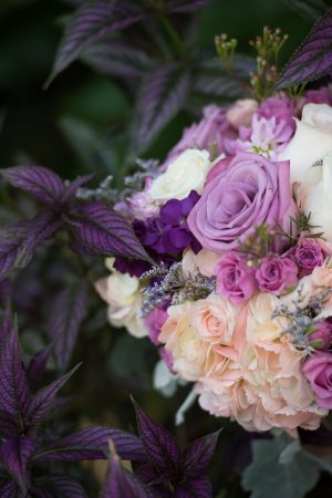 Summer wedding bouquet - Corner House Photography