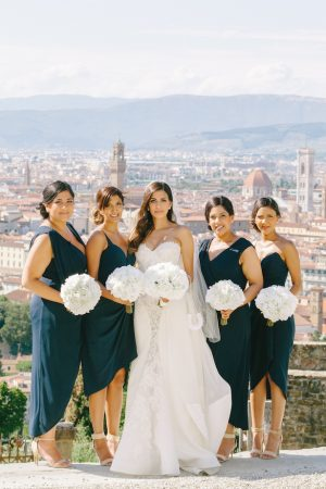 Teal Bridesmaid Dresses - Facibeni Fotografia