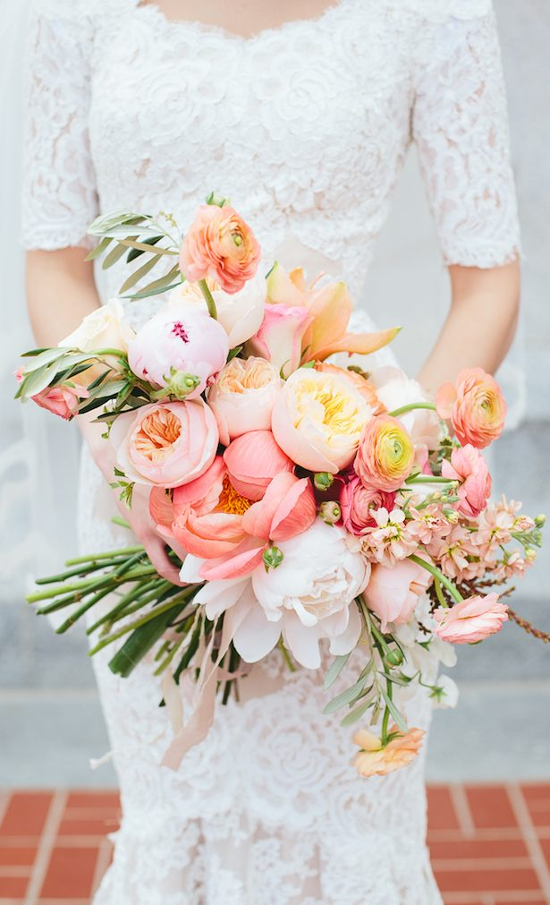 Wedding Bouquet - Travis J Photography