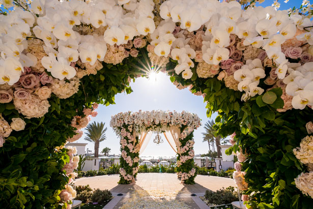 Wedding arch - Lin And Jirsa Photography