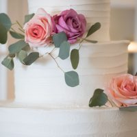 Wedding cake - Corner House Photography