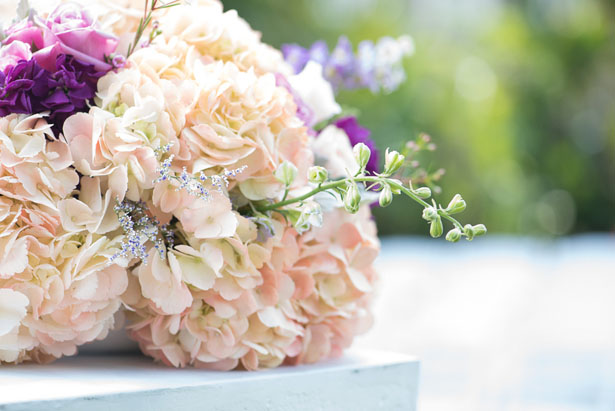 Wedding ceremony flowers - Corner House Photography