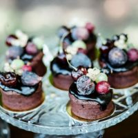 Wedding dessert - LLC Heather Mayer Photographers