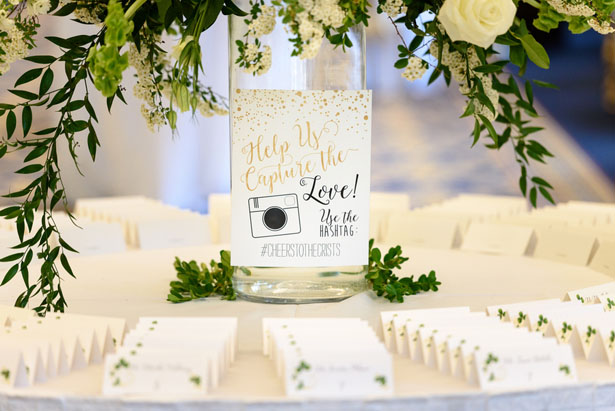 Wedding escort cards - Katie Whitcomb Photographers
