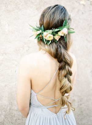 Bohemian wedding hairstyle - Ashley Rae Photography