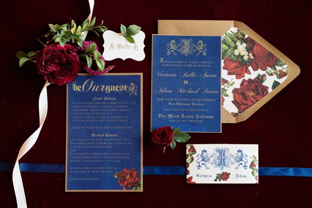 wedding invitation suite melissa sigler photography - Beauty And The Beast Wedding Invitations