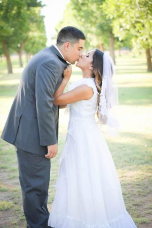 Wedding kiss - Priscilla Concepcion Photography