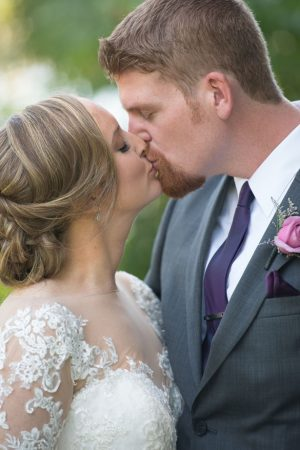 Wedding kiss - Corner House Photography