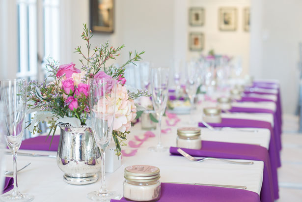 Wedding table-scape ideas - Corner House Photography
