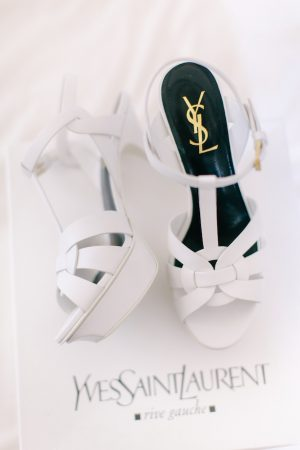 Yves Saint Laurent Wedding Shoes - Facibeni Fotografia