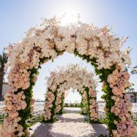 luxury Wedding arch - Lin And Jirsa Photography