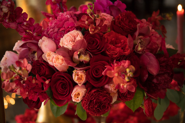 Beauiful bridal shower flowers - Cary Diaz Photography