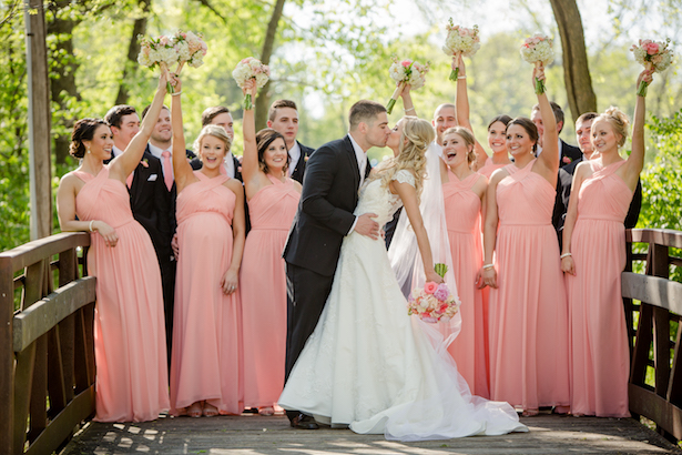 Beautiful wedding party picture - Freeland Photography