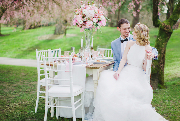 Beautiful wedding picture - Caroline Ross Photography