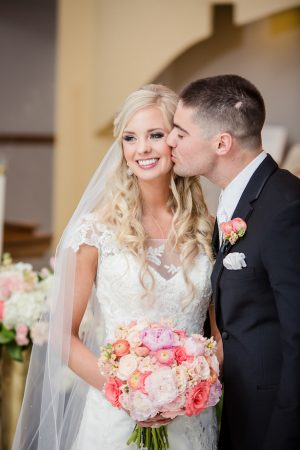 Pretty Coral Wedding - Freeland Photography