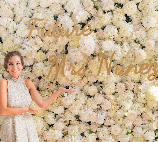 A Stylish Bridal Shower Draped in Florals