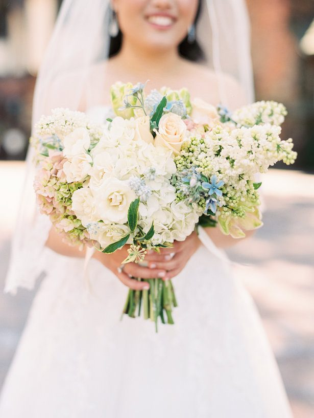 Timeless Pastel Spring Wedding that is the Epitome of Organic Elegance