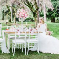 Spring Pink Wedding Styled Shoot - Caroline Ross Photography