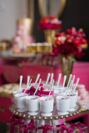 Bridal shower dessert ideas - Cary Diaz Photography