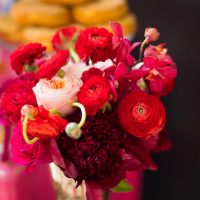 Bridal shower flowers - Cary Diaz Photography