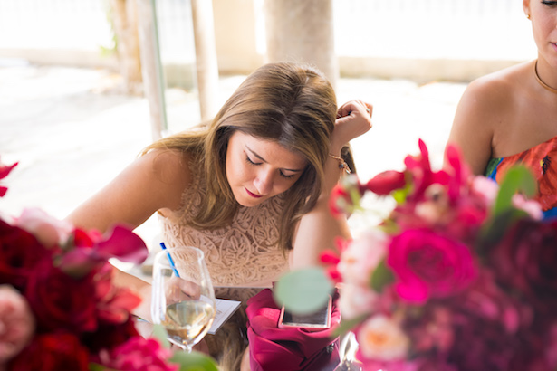 Bridal shower guest - Cary Diaz Photography