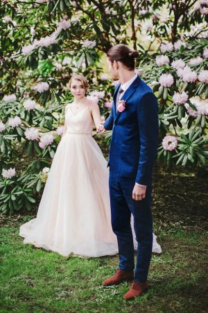 Cherry Blossom Spring Wedding Inspiration - Caroline Ross Photography