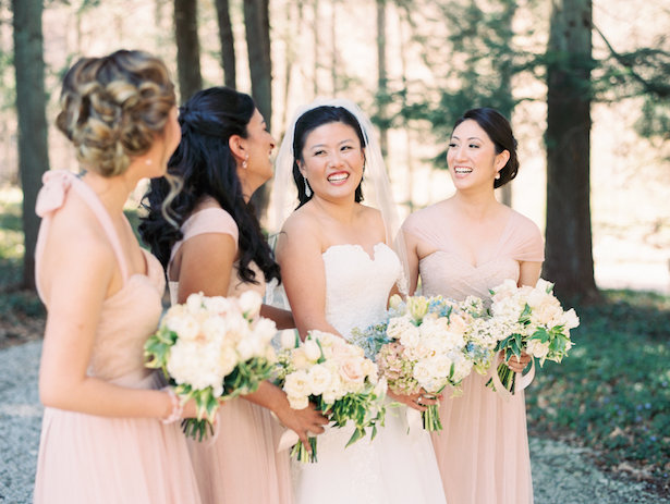 Blush Bridal Party - Hunter Photographic