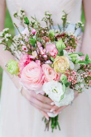 Colorful bridal bouquet - Caroline Ross Photography