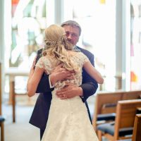 Father and bride photo - Freeland Photography