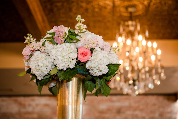 Floral wedding centerpiece - Freeland Photography