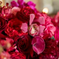 Gorgeous bridal shower flowers - Cary Diaz Photography