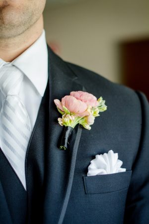Groom boutonniere - Freeland Photography