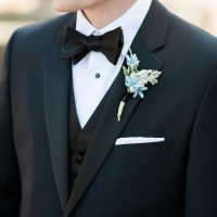 Groom boutonniere - Hunter Photographic