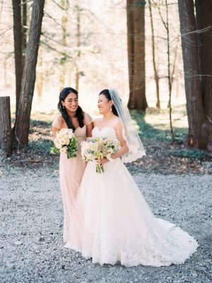 Maid of Honor and Bride - Hunter Photographic