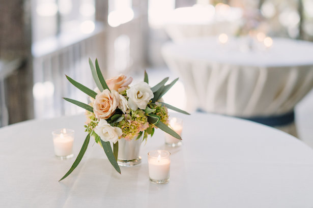 Small wedding centerpiece - Hunter Photographic