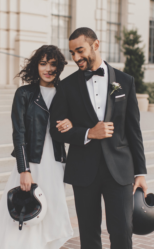 The Black Tux groom's fashion
