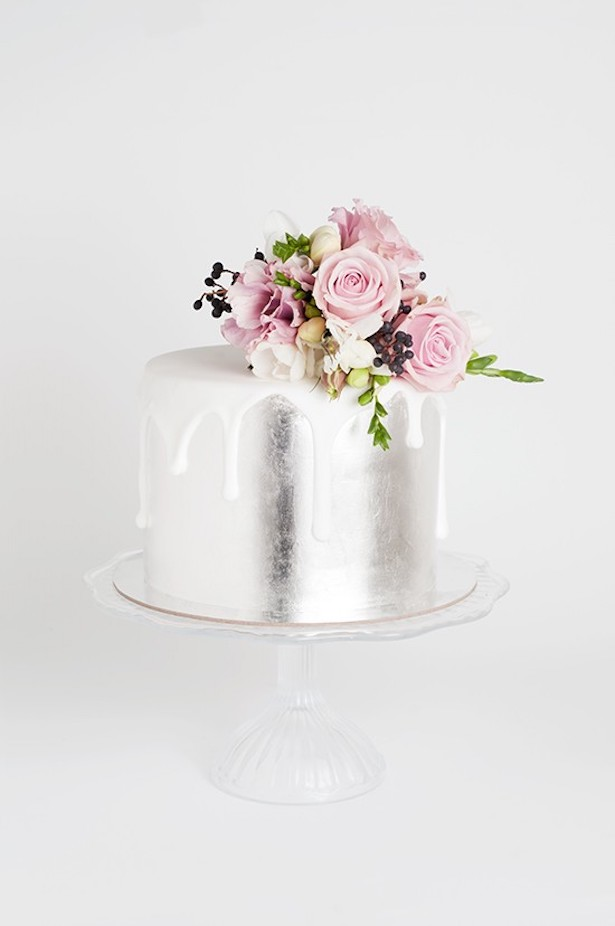 Wedding Cake Trends - Drip Cake by Cake Ink