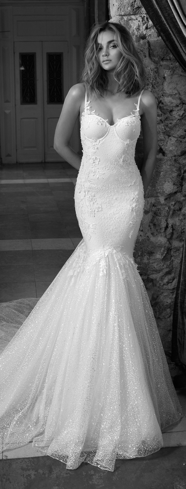 Wedding Dress by Julie Vino 2017 Romanzo Collection | Mermaid lace bridal gown