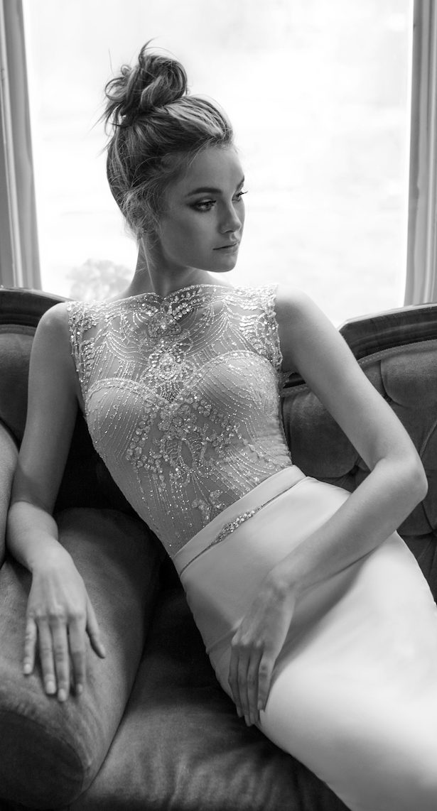 Wedding Dresses by Julie Vino 2017 Romanzo Collection