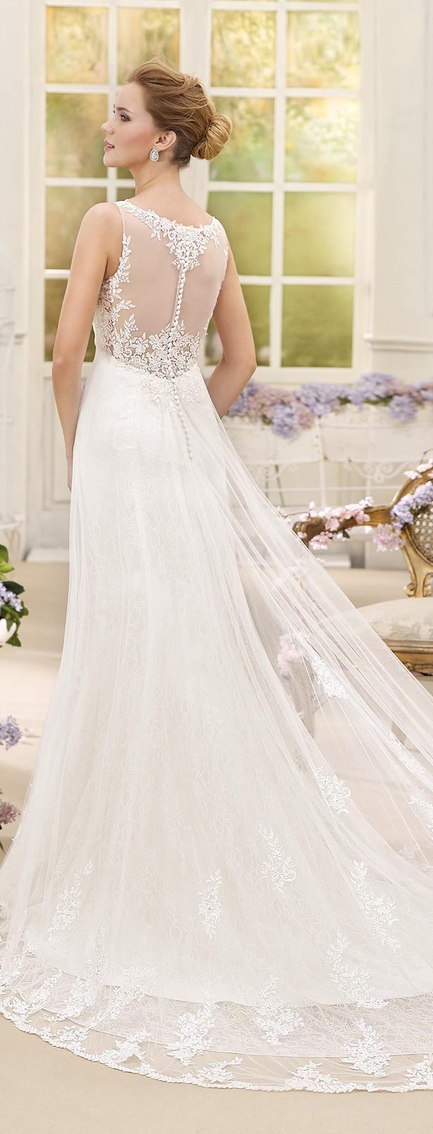 Wedding dress by fara sposa 2017 bridal collection belle for Romantic ethereal wedding dresses