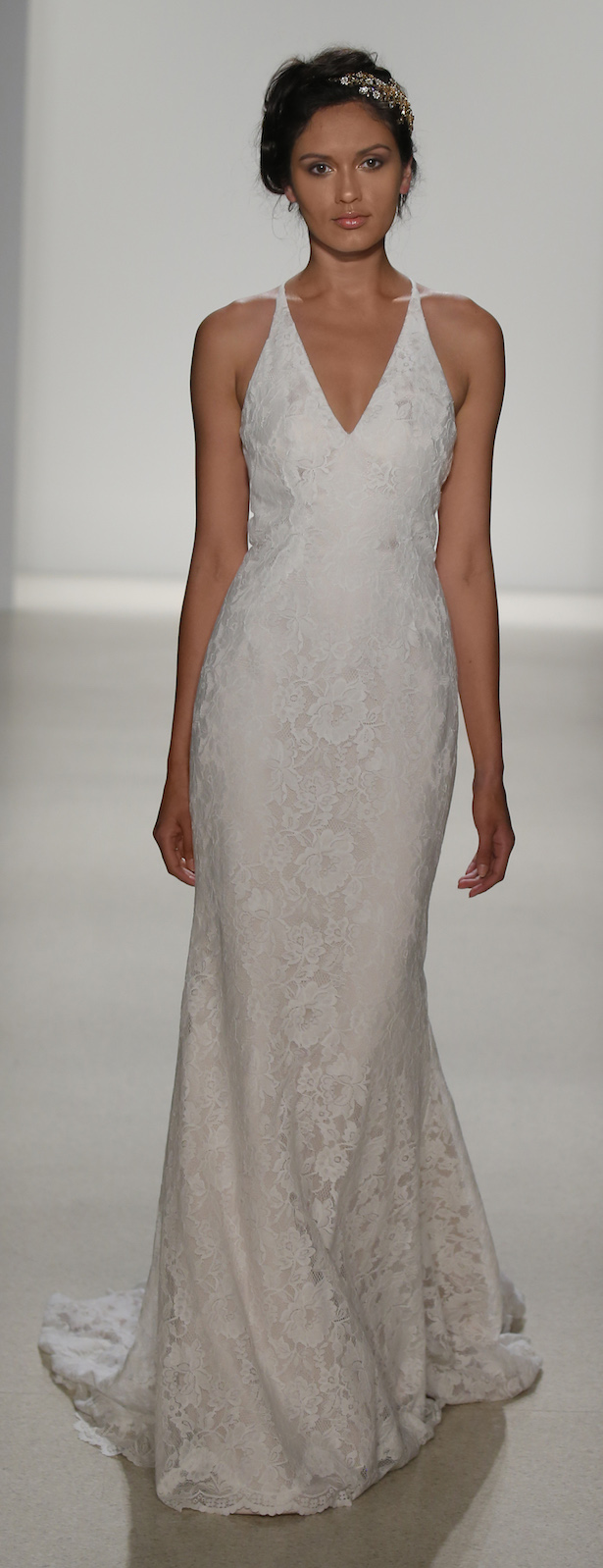 Racerback Lace Wedding Dress by Kelly Faetanini Spring 2018 - MARIANA