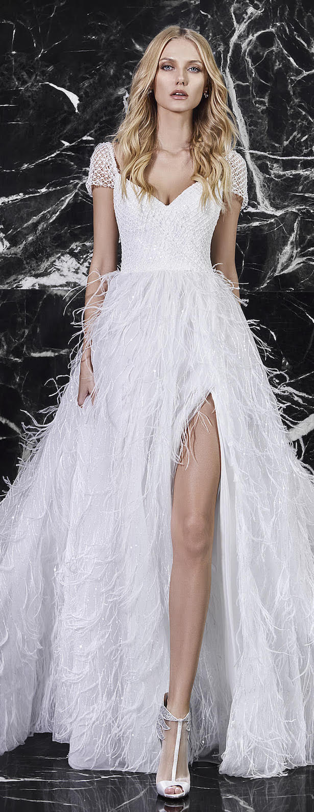 Wedding Dress by Victoria Kyriakides Bridal Spring 2018 Collection