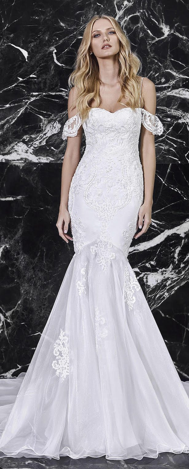 "Wedding Dresses by Victoria KyriaKides Bridal Spring 2018 Collection ""Le Boudoir"""