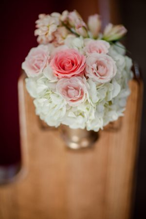 Wedding aisle decor - Freeland Photography