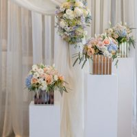 Wedding ceremony decor - Hunter Photographic